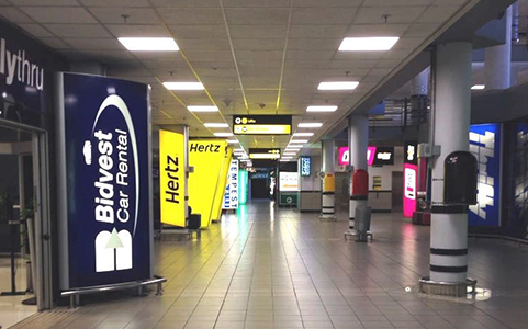LED Panels/Downlighters for O.R. Tambo International Airport